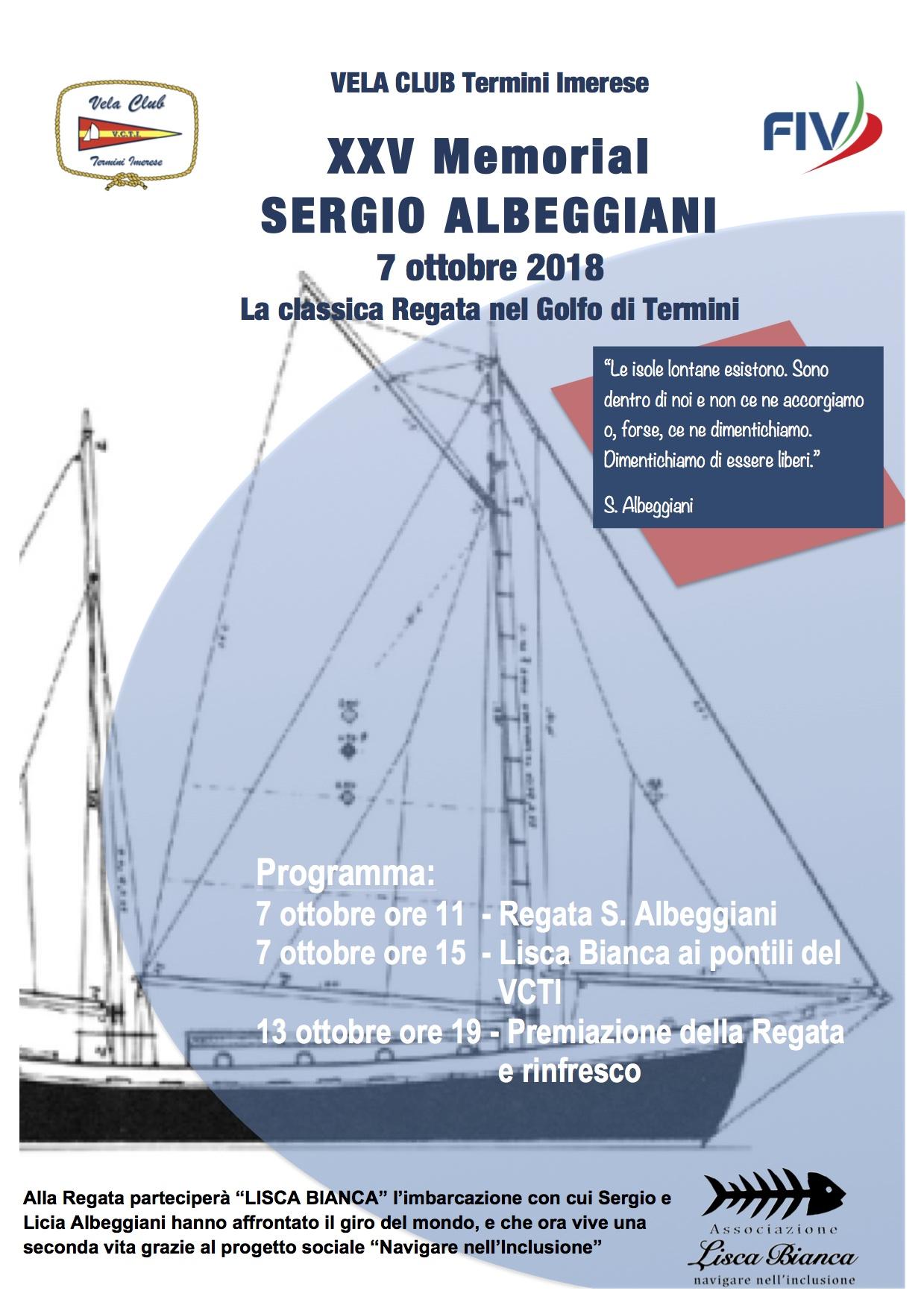 Locandina Albeggiani 2018