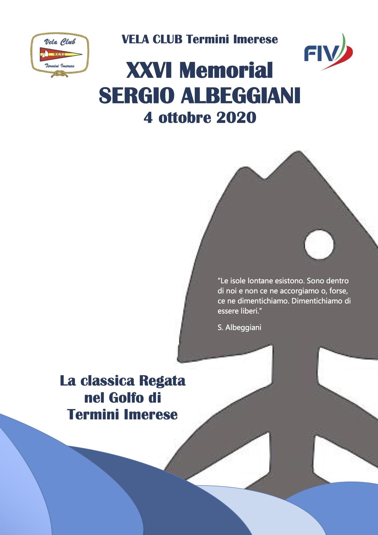Locandina Albeggiani 2020