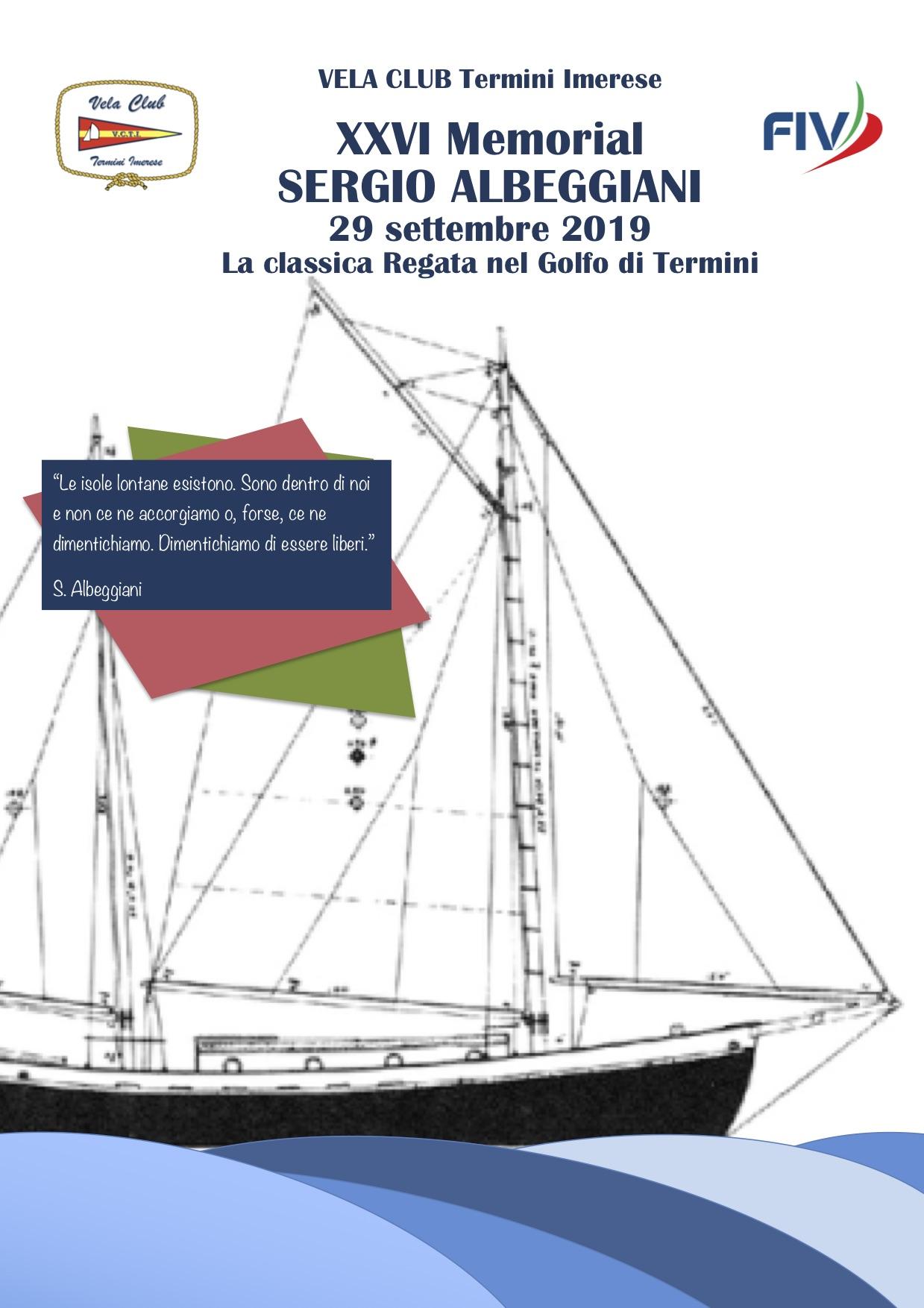 Locandina Albeggiani 2019